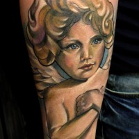 angel tattoo 200x200 Tattoo Artist Gallery: Marie Kraus