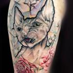 cat tattoo 150x150 Tattoo artist gallery: Marie Kraus