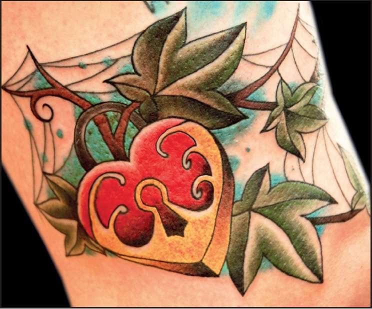 love tattoo Chiavi & Lucchetti tattoo