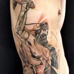 man at work tattoo 150x150 Tattoo artist gallery: Marie Kraus