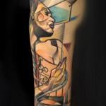 woman heart tattoo 150x150 Tattoo artist gallery: Marie Kraus