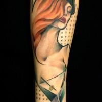 woman tattoo 200x200 Tattoo Artist Gallery: Marie Kraus