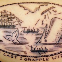 Moby Dick tattoo 200x200 Tattoo Artist Gallery: Duke Riley