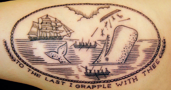 Moby Dick tattoo Moby Dick tattoo