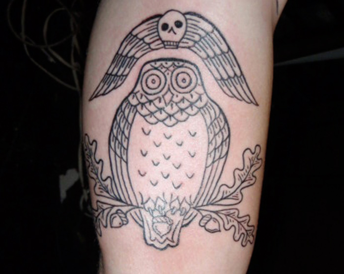Owl tattoo Owl tattoo