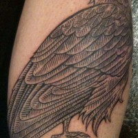 crow tattoo 200x200 Tattoo Artist Gallery: Duke Riley