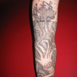 octopus sleeve tattoo 150x150 Tattoo artist gallery: Duke Riley