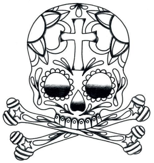 How to draw a skull for Immagini teschi disegnati