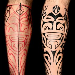 Age-old charm of Polynesian tattoos