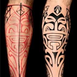 Age-old charm of Polynesian tattoos