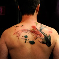 koi tattoo Wang 200x200 Tattoo artist Gallery: Joey Pang e Wang