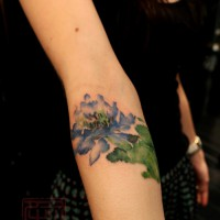 lotus tattoo, Wang