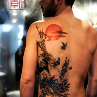 nature tattoo, Joey Pang