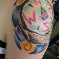 compass tattoo 200x200 Tattoo artist gallery: Sebo