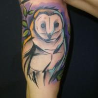 owl tattoo 200x200 Tattoo artist gallery: Sebo