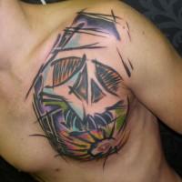 skull tattoo 200x200 Tattoo artist gallery: Sebo