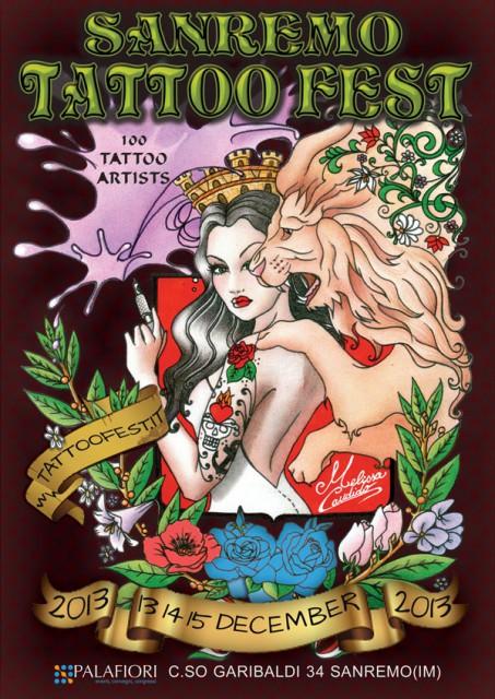 Tattoo Fest Sanremo :: 13-14 -15 dicembre 2013