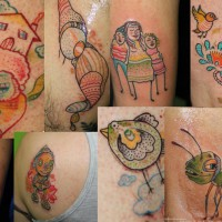 mini tattoo 200x200 Tattoo Artist Gallery: Nuno
