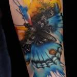butterfly tattoo 150x150 Tattoo artist gallery: Lianne Moule