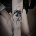 children tattoo 150x150 Tattoo Artist Gallery: Ien Levin