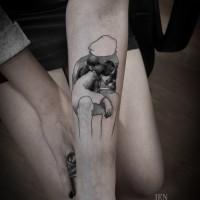 children tattoo 200x200 Tattoo Artist Gallery: Ien Levin