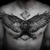 Eagle eye tattoo