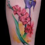 flower tattoo 150x150 Tattoo artist gallery: Lianne Moule