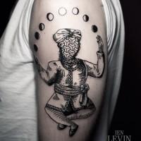 meditation tattoo 200x200 Tattoo Artist Gallery: Ien Levin