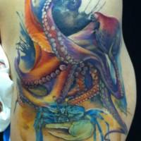 octopus tattoo 200x200 Tattoo Tartist gallery: Lianne Moule