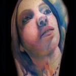 portrait tattoo 150x150 Tattoo artist gallery: Lianne Moule