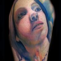 portrait tattoo 200x200 Tattoo Tartist gallery: Lianne Moule