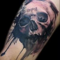 skull tattoo1 200x200 Tattoo Tartist gallery: Lianne Moule