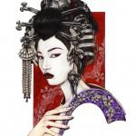 Geisha of the Bones - Zoe Lacchei