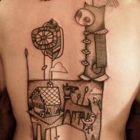 family dog tattoo Noon 200x200 Tattoo Tartist gallery: NooN