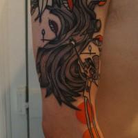 forest tattoo Noon 200x200 Tattoo Tartist gallery: NooN