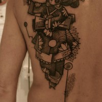 geisha tattoo Noon 200x200 Tattoo Tartist gallery: NooN