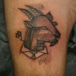 goat tattoo Noon 150x150 Tattoo artist gallery: NooN