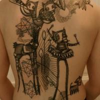 music tattoo Noon 200x200 Tattoo Tartist gallery: NooN
