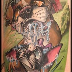 Tattoo artist gallery: Frank La Natra
