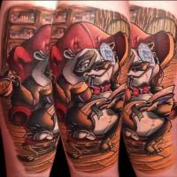 Beary Distinguished Frank La Natra Tattoo 200x200 Tattoo artist gallery: Frank La Natra