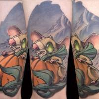 Feeling a Lil Mousy Frank La Natra Tattoo 200x200 Tattoo artist gallery: Frank La Natra