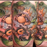 Its Good to be the Queen Frank La Natra Tattoo 200x200 Tattoo artist gallery: Frank La Natra