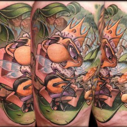 Tattoo Tartist gallery Frank La Natra