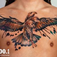 3headed eagle tattoo