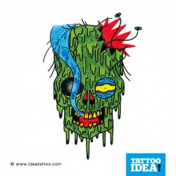 Tatto Idea zombie 250x250 Drawings Tattoo