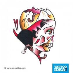 Donna Zombie Tattoo