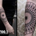 mandala tattoo by chaim