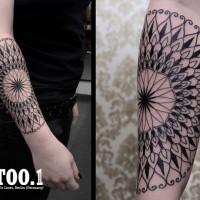 mandala2 tattoo chaim 200x200 Tattoo Artist gallery: Chaim Machlev