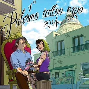 palermo alle Alle Tattoo @ Palermo Tattoo Expo