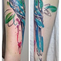 parrot tattoo julia rehme 200x200 Tattoo Artist Gallery: Julia Rehme